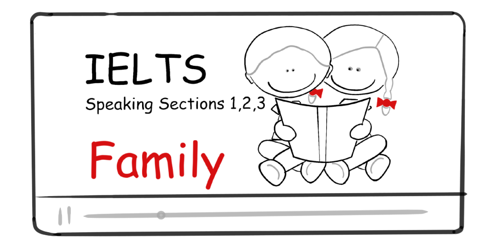 Family (IELTS Speaking Section 1, 2, 3)